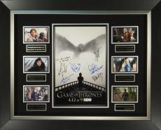 Game of Thrones Season 5 Cast Signed Poster Display