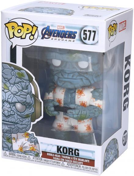 Gamer Korg Marvel Avengers #577 Funko Pop! Figurine
