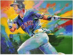 MLB Garciaparra Nomar (horizontal) Original Art