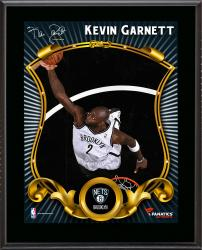 Kevin Garnett Brooklyn Nets Sublimated 10.5'' x 13'' Stylized Plaque - Mounted Memories