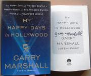 Garry Marshall signed My Happy Days in Hollywood 1st Print Beckett BAS Auth
