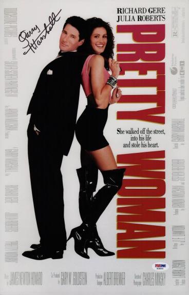 Garry Marshall Signed Pretty Woman 11x17 Movie Poster Psa Coa Ad48104