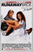 Garry Marshall Signed Runaway Bride 11x17 Movie Poster Psa Coa Ad48105