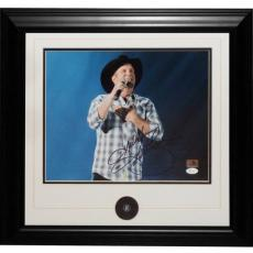 Garth Brooks Autographed Country Music Deluxe Framed 11x14 Photo - JSA