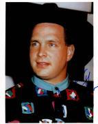 Garth Brooks Autographed Vintage Stunning Eyes Photo Uacc Rd Coa AFTAL