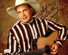Garth Brooks Country Music Signed 8X10 Photo Autographed JSA #F48254