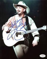 "Garth Brooks Country Musician ""God Bless"" Signed 8X10 Photo JSA F77949"