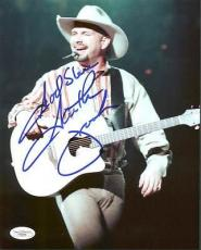 "Garth Brooks ""God Bless"" Signed 8X10 Photo Autographed JSA #F48256"