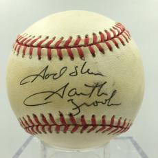 "Garth Brooks "" God Bless"" Signed Autographed National League Baseball JSA COA"
