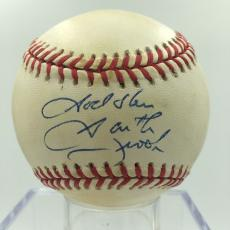 "Garth Brooks ""God Bless"" Signed Autographed National League Baseball PSA DNA COA"