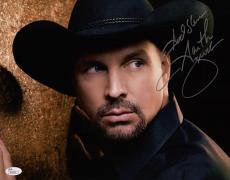 Garth Brooks Signed 11x14 Photo Jsa Coa M20162