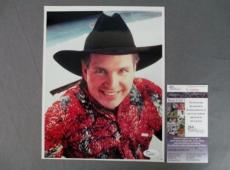Garth Brooks Signed 8x10 Photo Country Music Super Star JSA COA
