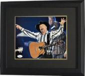 Garth Brooks signed 8x10 Photo Custom Framed- JSA Hologram #P62236 (Country Music-horizontal)