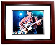 Garth Brooks Signed - Autographed Country Music Singer 8x10 inch Photo MAHOGANY CUSTOM FRAME - Guaranteed to pass PSA or JSA