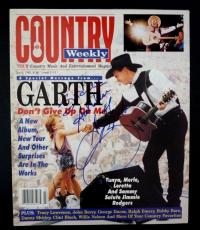 Garth Brooks Signed Autographed Magazine Cover Page Photo PSA Beckett Guaranteed