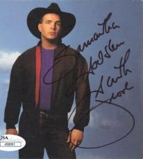 GARTH BROOKS Signed CD Album Cover 2 JSA