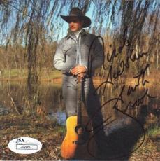 GARTH BROOKS Signed CD Album Cover JSA
