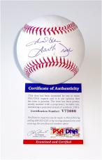 Garth Brooks Signed Major League Baseball Psa Coa V73666