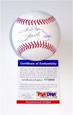 Garth Brooks Signed Major League Baseball Psa Coa V73666
