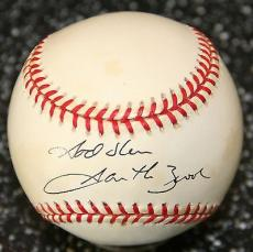 Garth Brooks Signed Official National League Leonard Coleman Baseball PSA/DNA