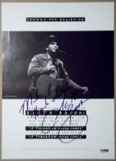GARTH BROOKS Signed Photo `90 ACM Award Nominee PSA/DNA