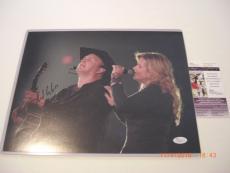 Garth Brooks With Trisha Yearwood,the Dance,legend Jsa/coa Signed 11x14 Photo
