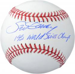 Steve Garvey Autographed Baseball - 81 WS Champs