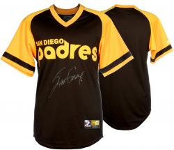 Steve Garvey Autographed San Diego Padres Throwback Jersey