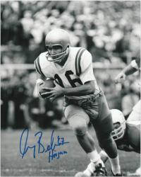 "Gary Beban UCLA Bruins Autographed 8"" x 10"" Photograph with ""67 Heisman"" Inscription - Mounted Memories"