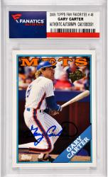 Gary Carter New York Mets Autographed 2005 Topps All Time Fan Favorites #48 Card
