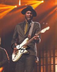 Gary Clark Jr signed Rock N Roll Blues Guitarist 8x10 photo w/coa #2
