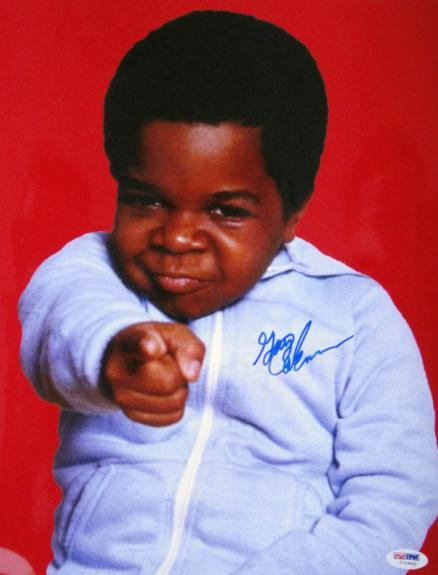 Gary Coleman Signed 11x14 Diff'rent Strokes Photo PSA