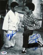 Gary Coleman Todd Bridges Signed 8x10 Photo PSA/DNA