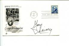 Gary Delainey Betty Cartoonist Artist Signed Autograph FDC