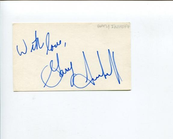 Gary Imhoff The Waltons Thumbelina Spider-Man Green Goblin Signed Autograph