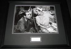 Gary Merrill Signed Framed 16x20 Photo Poster Display