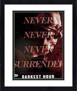 Gary Oldman Darkest Hour Signed 11x14 Photo Autographed BAS #F09209