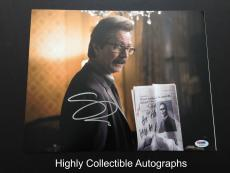 Gary Oldman Signed 11x14 Photo Autograph Psa Dna Coa Dark Knight Rises
