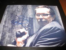 GARY OLDMAN SIGNED AUTOGRAPH 8x10 PHOTO DARK KNIGHT RISES COMMISSIONER GORDON D