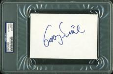 Gary Sinise Signed 4X6 Index Card Autographed PSA/DNA Slabbed