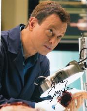 GARY SINISE signed (CSI NY) TV SHOW 8X10 photo W/COA *Mac Taylor*