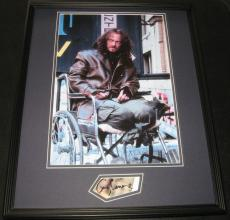 Gary Sinise Signed Framed 16x20 Photo Display Forrest Gump Lieutenant Dan