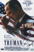 Gary Sinise Signed Truman 11x17 Movie Poster Jsa Coa N37856