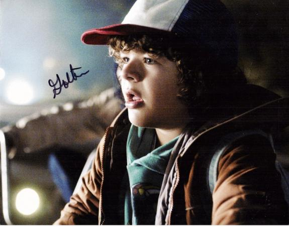 Gaten Matarazzo Signed - Autographed Stranger Things - Dustin 11x14 inch Photo - Guaranteed to pass BAS