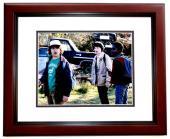 Gaten Matarazzo Signed - Autographed Stranger Things - Dustin 11x14 inch Photo MAHOGANY CUSTOM FRAME - Guaranteed to pass PSA or JSA