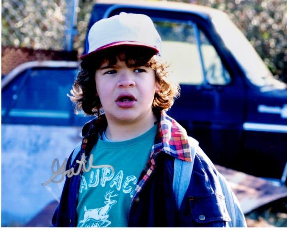Gaten Matarazzo Signed - Autographed Stranger Things - Dustin 8x10 inch Photo - Guaranteed to pass BAS
