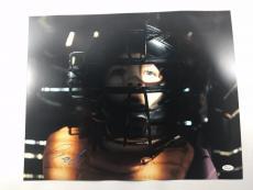 Gaten Matarazzo Signed Stranger Things 16x20 Picture Ghostbusters Dustin JSA 2