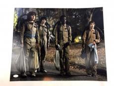 Gaten Matarazzo Signed Stranger Things 16x20 Picture Ghostbusters Dustin JSA