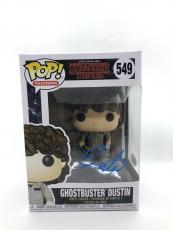 Gaten Matarazzo Signed Stranger Things Funko POP Ghostbusters Dustin JSA