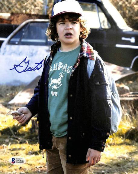 Gaten Matarazzo Stranger Things Signed 8x10 Photo Autographed BAS